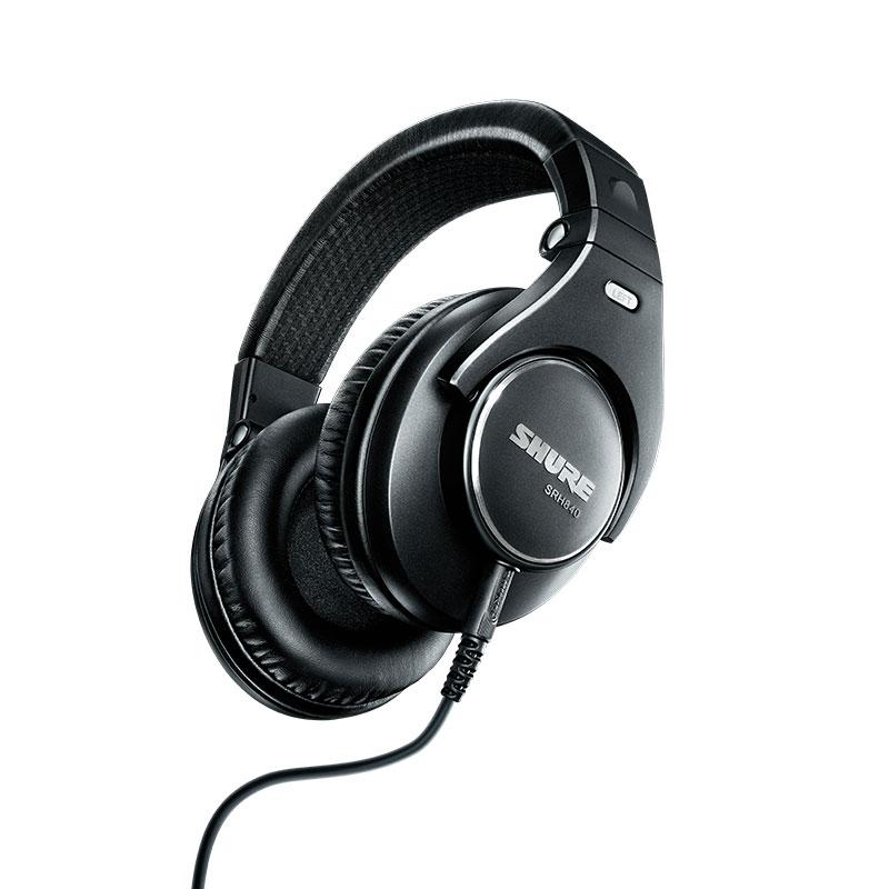 シュア 販売 ヘッドホン ヘッドフォン SHURE P10 国内正規品 SRH840-BK-A 新パッケージ 期間限定で特別価格