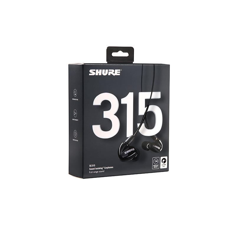 SHURE(シュア) SE315-K-A(ブラック)