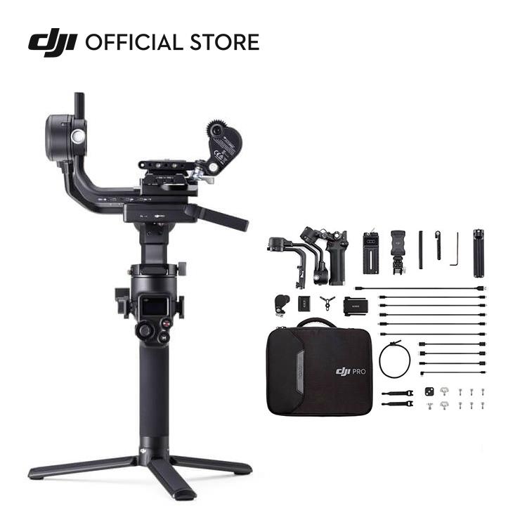 プロの仕事で求められる品質に自然と到達することのできる DJI RSC 2 Pro COMBO スタビライザー ジンバル コンボ 一眼 Ronin 売れ筋ランキング カメラ 高品質 レフ 水平 ビデオカメラ 三脚