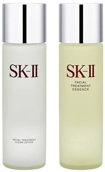 【SK-II】ピテラデラックスセット フェイシャル トリートメント エッセンス (FTエッセンス) 230ml & フェイシャル トリートメント (FTクリアローション) 230ml [セット]【送料無料】【エスケイツー/SKII/SK2/SK-2/美容液/スキンケア】