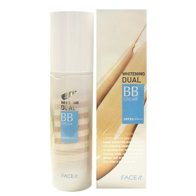 Face It Whitening Dual BB Cream SPF35/PA++フェイスイットデュアルBB雪花膏韩国化妆品/韩国化妆品/韩国Koss/BB雪花膏/bb