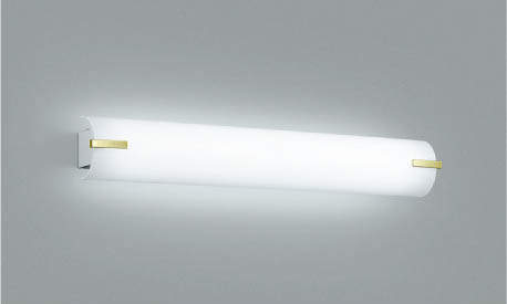 照明 祝開店大放出セール開催中 期間限定今なら送料無料 おしゃれコイズミ照明 KOIZUMI 金色メッキ昼白色 FL20W相当 ブラケットライト鏡上灯AB42569L