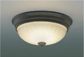 コイズミ照明 KOIZUMI 【小型シーリングライトAH45296L アンティークブロンズ色塗装電球色・FCL30W相当】 天井照明 おしゃれ ライト