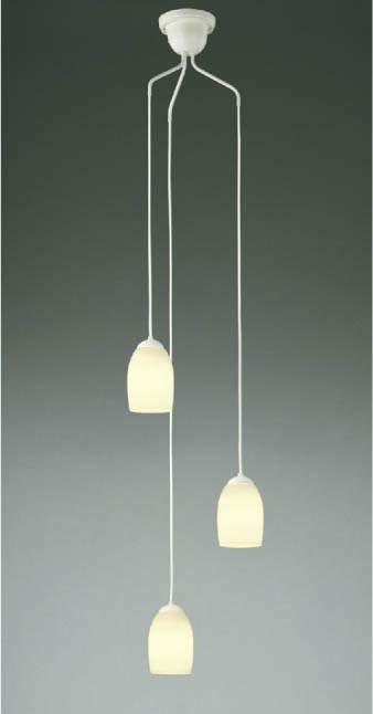 照明 おしゃれ シンプル モダン LEDコイズミ照明 KOIZUMI 【吹き抜けシャンデリアAP40020L 吹き抜け空間にアクセントや気品を添えるあかり。 電球色・白熱球60W×3灯相当】