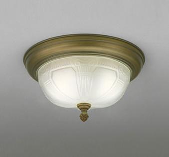 照明 おしゃれ ライトオーデリック ODELIC 【小型シーリングライトOL011104LD 真鍮古味アンティークの風合い 白熱灯50W×2灯相当】