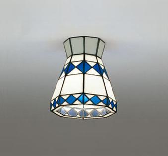 照明 おしゃれ ライトオーデリック ODELIC 【小型シーリングライトOL013255LC ステンドグラス調光・白熱灯40W相当】