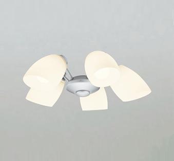 オーデリック ODELIC 【シーリングファン オプション ACモーターファンシリーズWF806PC マットシルバー色灯具[乳白ケシガラス・5灯] 電球色~昼光色 調光・光色切替・~6畳】