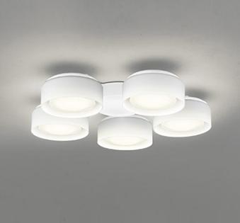オーデリック ODELIC 【シーリングファンライト オプション DCモーターファンシリーズWF822LD 白色灯具[乳白ケシガラス・5灯] 電球色・~6畳】