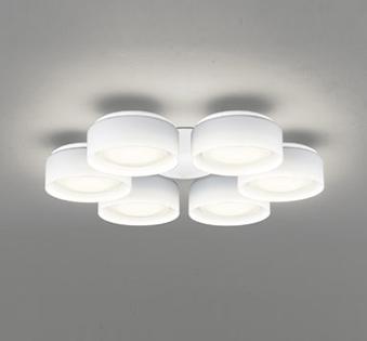 オーデリック ODELIC 【シーリングファン オプション DCモーターファンシリーズWF823LD 白色灯具[乳白ケシガラス・6灯] 電球色・~8畳】