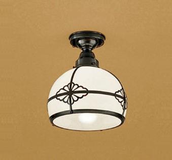 オーデリック 白熱灯60W相当 ガラス乳白、真鍮飾付 小型シーリングライトOL125041LD 照明 和風 ODELIC
