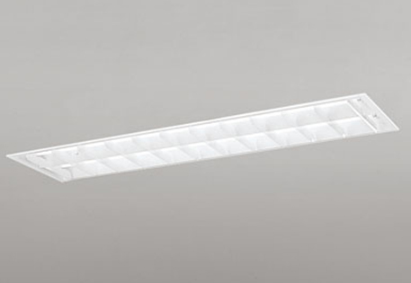 無料プレゼント対象商品!オーデリック ODELIC 【埋込型XD266103P1 昼白色下面開放型(ルーバー・幅広) 2灯用非調光 Hf 32W定格出力相当】
