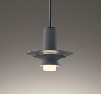 オーデリック ODELIC 【調光ペンダントライトOP252761 ダクトレール用アルミ・鋼(チャコールグレー色) コード収納フレンジ付 電球色 白熱灯60W相当】 直下への光と、やわらかな間接光とをつくる