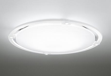 オーデリック ODELIC 【スポットライト付調光調色シーリングライトOL251504BCR 樹脂(マットホワイト色)・アクリル(乳白) 高演色LED 電球色~昼光色ツバ付丸形引掛シーリング取付 Bluetooth対応機種~8畳】 可動式LEDスポットを搭載