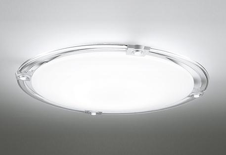 オーデリック ODELIC 【スポットライト付調光調色シーリングライトOL251506BCR 樹脂(透明・マットシルバー色)・アクリル(乳白) 高演色LED 電球色~昼光色ツバ付丸形引掛シーリング取付 Bluetooth対応機種~12畳】 可動式LEDスポットを搭載