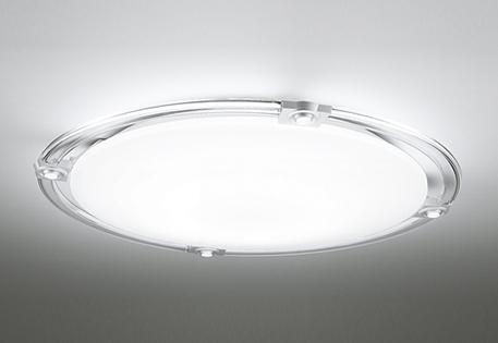 オーデリック ODELIC 【スポットライト付調光調色シーリングライトOL251508BCR 樹脂(透明・マットシルバー色)・アクリル(乳白) 高演色LED 電球色~昼光色ツバ付丸形引掛シーリング取付 Bluetooth対応機種~8畳】 可動式LEDスポットを搭載