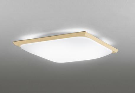 オーデリック ODELIC 【和風 照明 シーリングライトOL291017 白木 電球色~昼光色 リモコン付属 調光調色・~6畳】 角丸フォルムのグローブと直線的な白木枠を合わせたシンプルな意匠