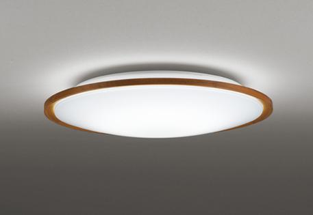 オーデリック ODELIC 【調光調色シーリングライトOL291323R 木材(チェリー色) 高演色LED 電球色~昼光色ツバ付丸形引掛シーリング取付 リモコン付属~8畳】 薄く軽やかな印象のコンパクトな木枠ベーシックシリーズ