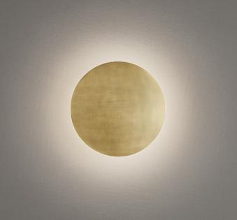 オーデリック ODELIC 【ブラケットライトOB255318 電球色真鍮(ヘアライン) 巾Φ204 LED一体型 定格消費電力4.5W】 素材の美しさを際立てるヘアライン仕上げ
