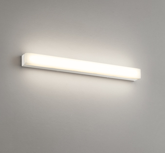 オーデリック ODELIC   ブラケットミラーライト OB255321R 電球色 アクリル乳白 鋼オフホワイト色 巾560  LED一体型 高演色LED FL20W相当  素肌を美しく魅せる、ミラーライト