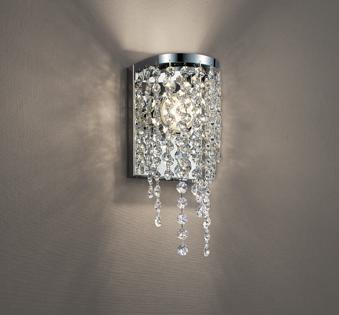 オーデリック ODELIC   調光ブラケットライト OB255332 電球色 飾:クリスタルガラス  鋼クロームメッキ  LED一体型  白熱灯60W相当