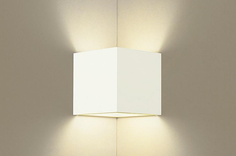 照明 おしゃれパナソニック Panasonic 【ブラケットライトLGB80515Z 電球色ホワイト 上下配光 入隅コーナー用廊下や階段でのまぶしさに配慮したブラケット 40形電球1灯器具相当】