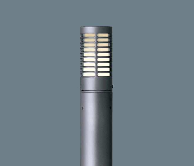 エクステリア 屋外 照明 ライト パナソニック 【 ガーデンライト ローポールライト XY2831 地上高60cm 格子タイプ ミディアムグレーメタリック 】 ポーチライト アプローチライト ポールライト
