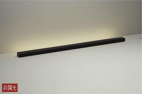 照明 おしゃれ かわいい 屋内大光電機 DAIKO 【スタンドライト アッパーライトDST-38694Y ブラック差込プラグ 中間スイッチ付(入切) LED(電球色) LED 15.5W】 施工なしで気軽に間接照明