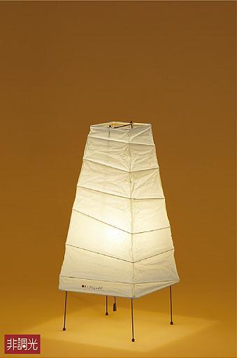 照明 おしゃれ かわいい 屋内大光電機 DAIKO 【和風スタンドライトDST-40070Y 和紙 プルスイッチ付(入切) LED(電球色) 白熱灯60W相当】 ランダムな竹ひごが、和紙に縮みやしわを刻む。イサム・ノグチ