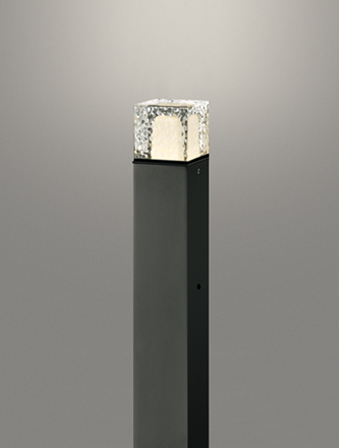 無料プレゼント対象商品!エクステリア 屋外 照明 ライトオーデリック(ODELIC) 【ポールライト OG254882LD 黒色 電球色】  地上高700 ポールライト ガーデンライト LED