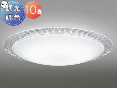 照明 おしゃれ ライトオーデリック ODELIC 【シーリングライトOL251700 電球色~昼光色華やかなダイヤカットフレーム 調光・調色タイプ・~ 10畳】