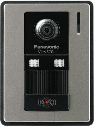 Panasonic(パナソニック)カラーテレビドアホン 【オプション】【別売カメラ玄関子機】【VL-V570L-S】【VLV570LS】【LEDライト搭載】【逆光補正付】【広角レンズ】 【インターホン】【ドアホン】