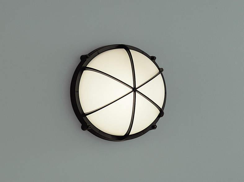 エクステリア 屋外 照明 ライト【三協アルミ】 照明器具 ポーチライト【 PK25型 ブラック 拡散光】
