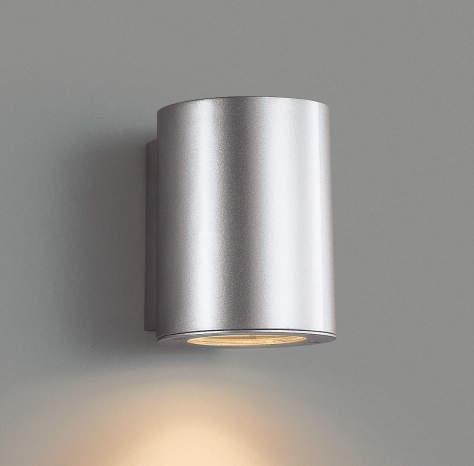 エクステリア 屋外 照明 ライト【三協アルミ】 照明器具 ポーチライト【 PD30型 シルバー アーバングレー ブラック 上面遮光】