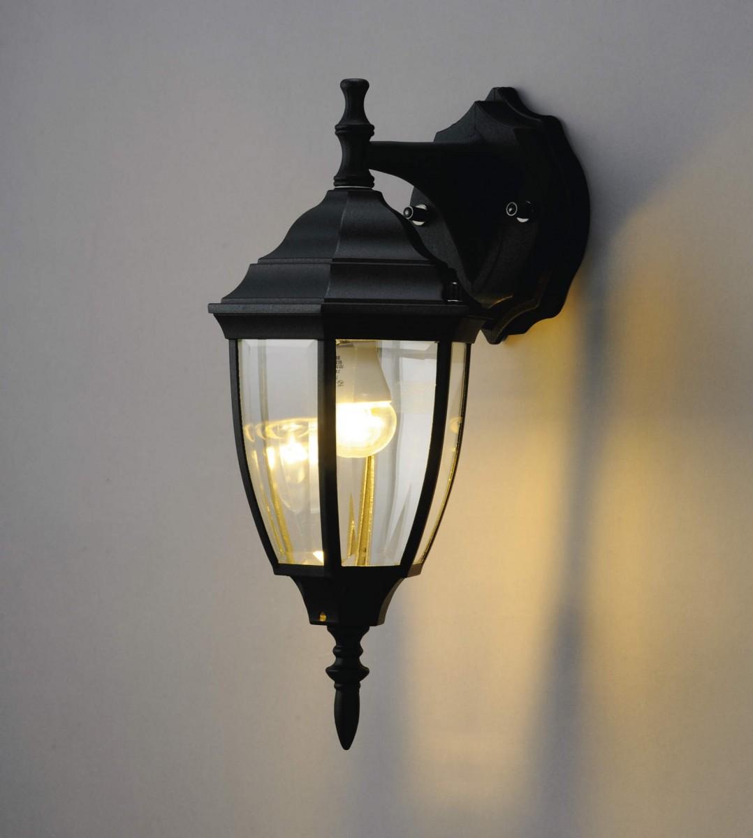 エクステリア 屋外 照明 ライト【三協アルミ】 照明器具 ポーチライト【 PD33型 ブラック 上面遮光】