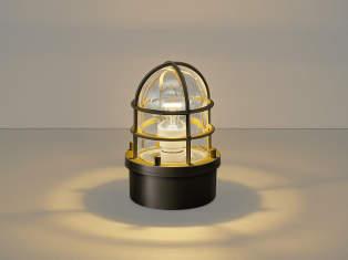 エクステリア 屋外 照明 ライト【三協アルミ】 照明器具 門灯【 MK17型 ブラウン ホワイト 拡散光】