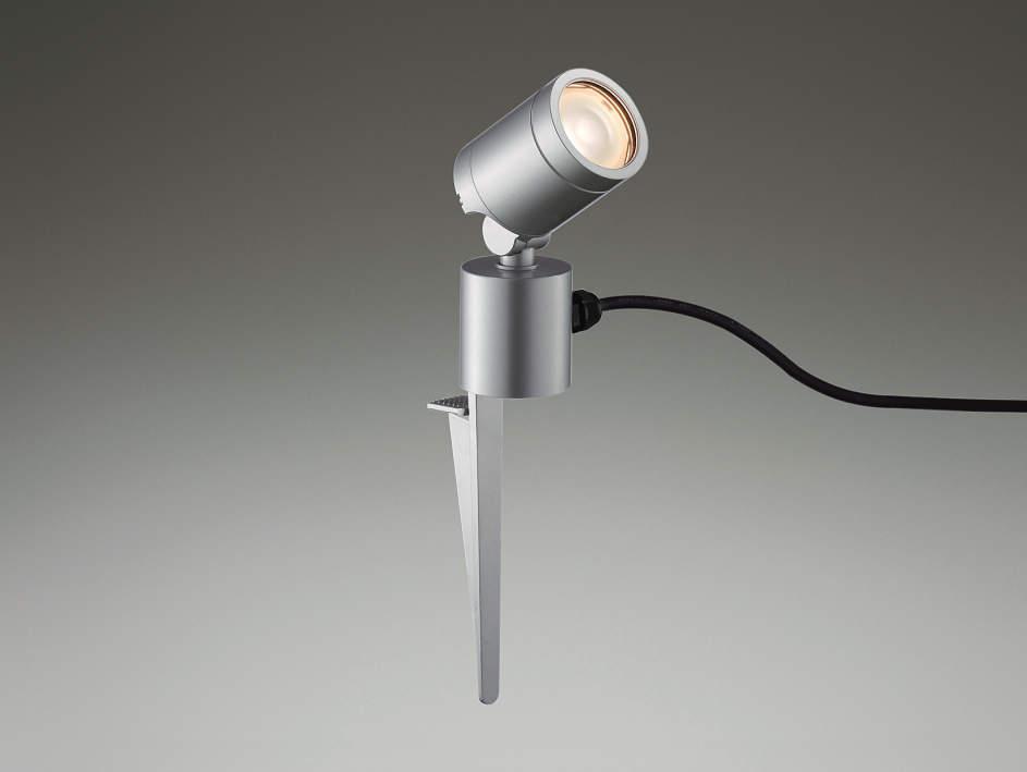 エクステリア 屋外 照明 ライト【三協アルミ】 照明器具 ガーデンライト【 GS8N型 シルバー ブラック スパイクタイプ】