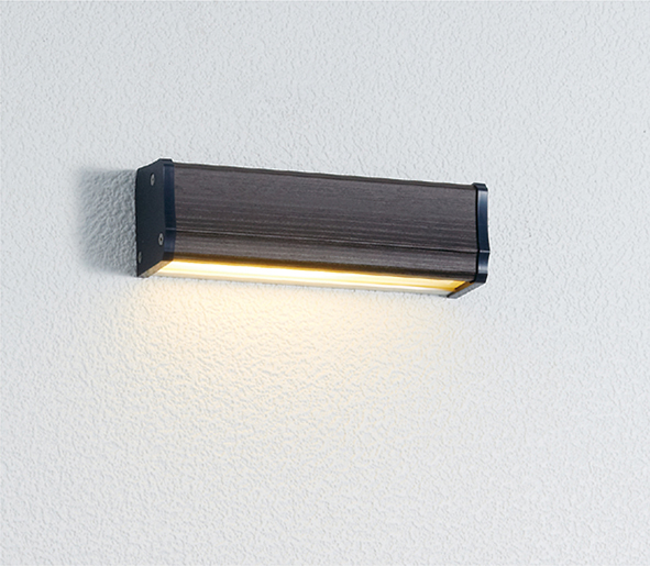 ユニソン(unison)エクステリア 屋外 照明 ライト 12V照明 表札灯 【エコルトウォールライト クルム 横幅150mmサイズ パイン EA0700432】 エコルトウォールライト