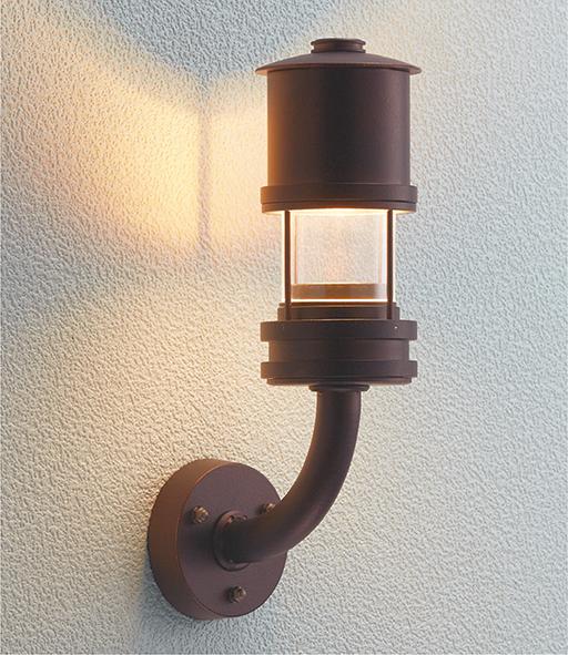 ユニソン(unison)エクステリア 屋外 照明 ライト 12V照明 表札灯 【エコルトウォールライト パドラ アンティーク エイジングブラウン EA0800252】 エコルトウォールライト