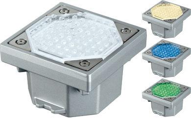ユニソン(unison)エクステリア 屋外 照明 ライト 【HELIOS ソーラーライト ヘリオスグランドライト LEDタイル IL-S100N】 蓄えた太陽光エネルギーで、夜の景観を鮮やかに演出