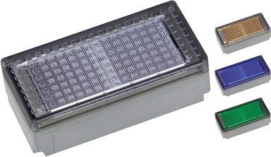 ユニソン(unison)エクステリア 屋外 照明 ライト 【HELIOS ソーラーライト ヘリオスグランドライト LEDブロック 200×100】 蓄えた太陽光エネルギーで、夜の景観を鮮やかに演出