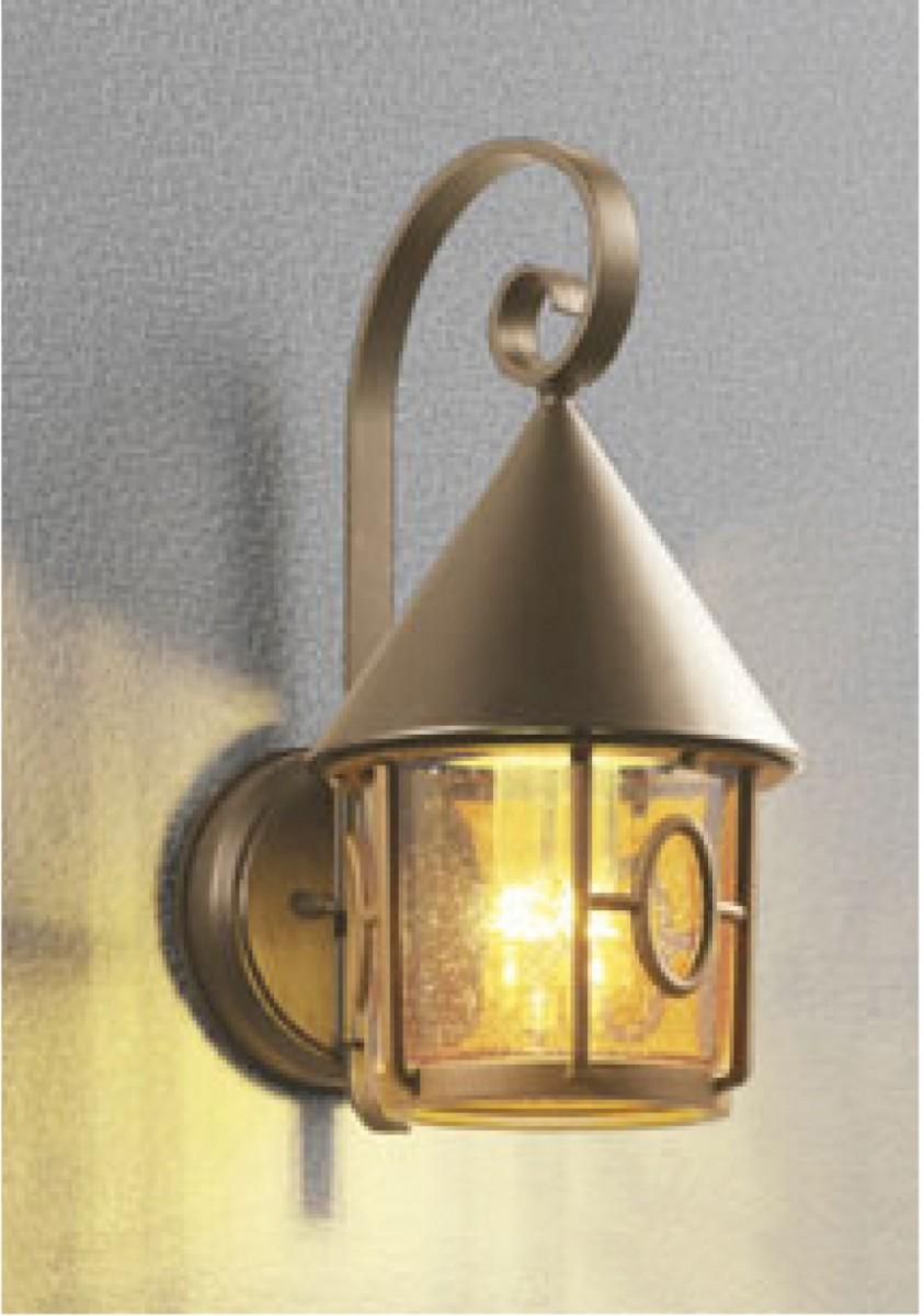 ユニソン(unison)エクステリア 屋外 照明 ライト 【PHOSY ポージィ UNOG254433LC】 ポージィウォールライト ブラウン 別売りセンサー対応【ポーチライト】