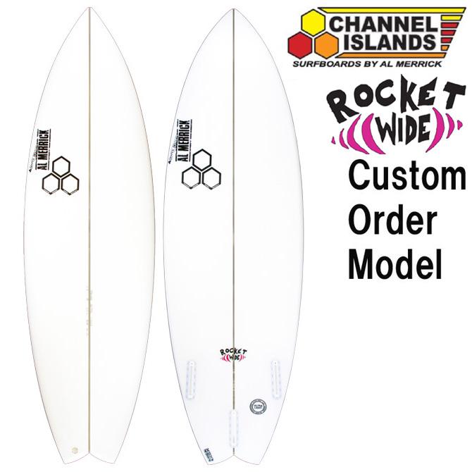 カスタムオーダー チャンネルアイランド サーフボード ロケットワイド / CustomOrder ChannelIsland SurfBoards The Rocket Wide 【返品・交換不可】