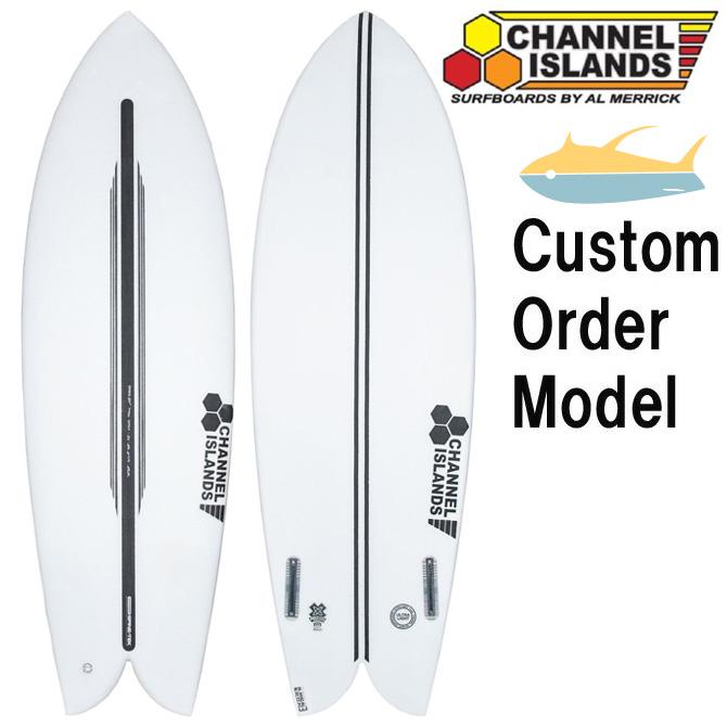 カスタムオーダー チャンネルアイランド アルメリック サーフボード CIフィッシュ スパインテック / CustomOrder ChannelIsland Almerrick SurfBoards The CIFish Spinetek Model 【返品・交換不可】