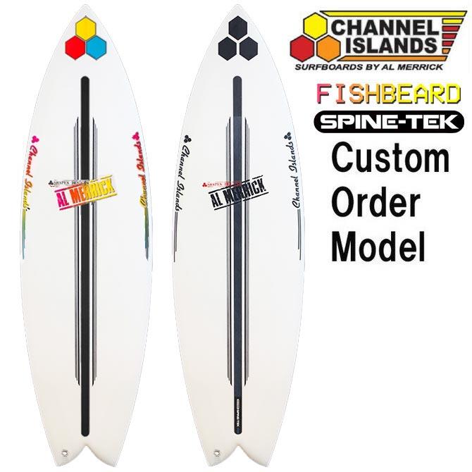 カスタムオーダー チャンネルアイランド サーフボード フィッシュベアード スパインテック モデル / CustomOrder ChannelIslands SurfBoards The FishBeard SpineTek EPS Model