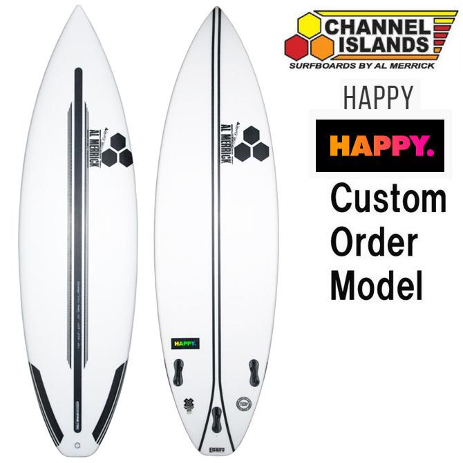 カスタムオーダー チャンネルアイランド サーフボード ハッピー スパインテック / CustomOrder ChannelIslands SurfBoards The Happy Spinetek EPS Model