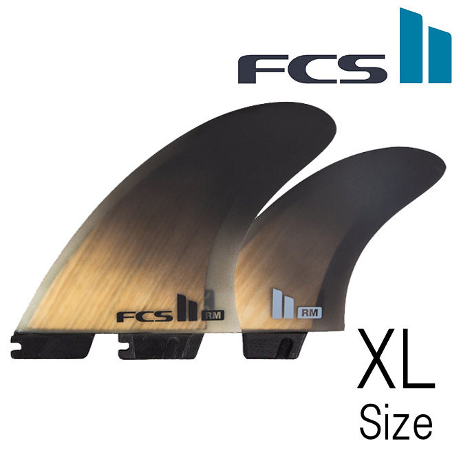FCS2 RM PerformanceCore Twin+1 Model XLargeSize / ロブ マチャド パフォーマンスコア 2+1 モデル サーフボード フィン エクストララージサイズ