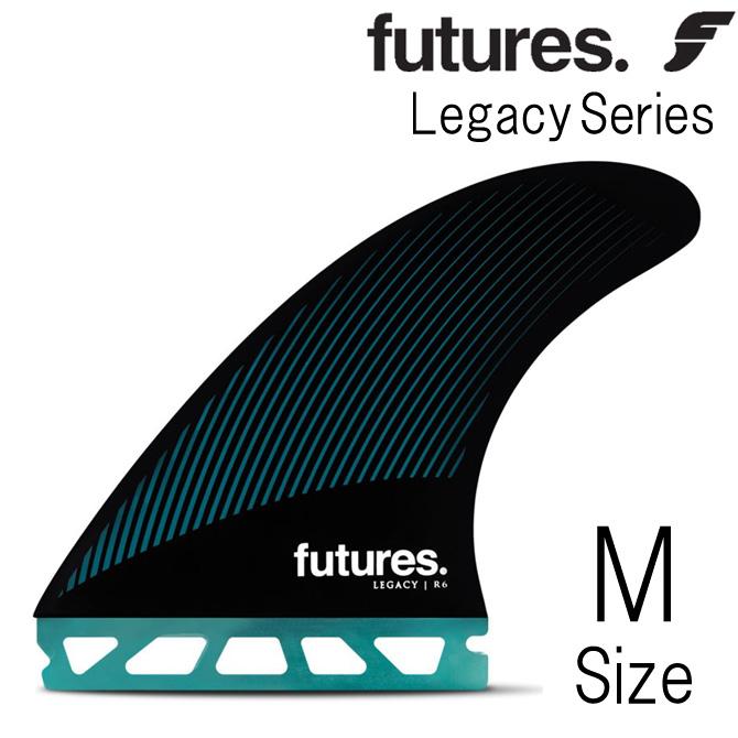 フューチャー フィン アールティーエム ヘックス レガシー R6 モデル ミディアム Mサイズ 3フィン トライフィン / Futures Fin RTM HEX Legacy R6 Medium TriFin