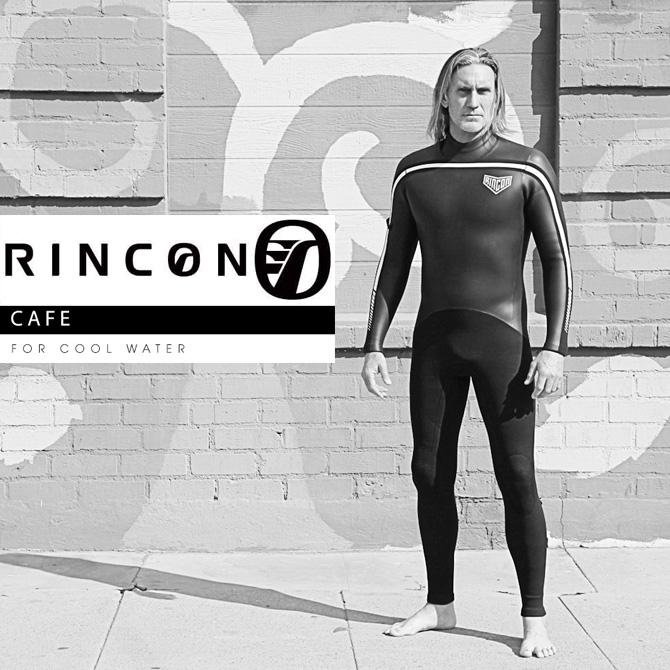オーダー リンコン ウェットスーツ セミドライ フルスーツ バックジップ モデル / Order Rincon WetSuit SemiDry Fullsuit Cafe