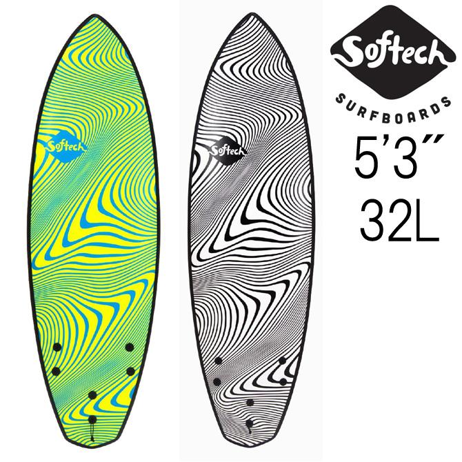 ソフテック サーフボード ソフトボード トレド ワイルドファイヤー モデル スポンジボード 160.0cm / Softech Surfboards SoftSurfBoards Toledo Wildfire 5'3