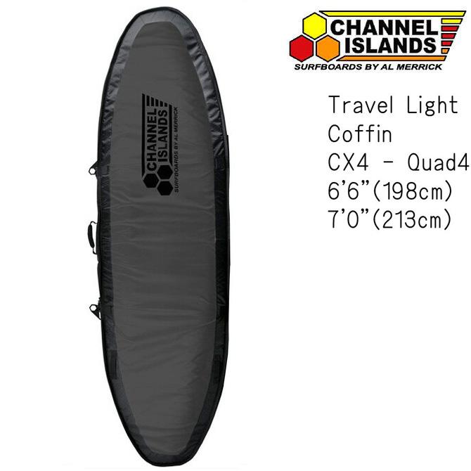 ChannelIslands TravelLight CX4Model SurfBoardCase / チャンネルアイランド クワッドサーフボードケース トラベルライト モデル 【返品・交換不可】